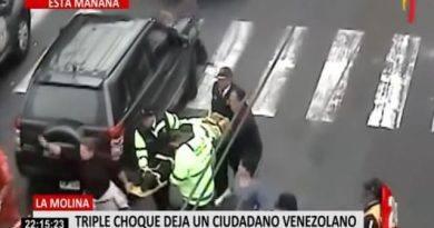 EN VIDEO: Venezolano murió arrollado por una camioneta en Perú