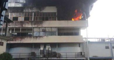 Reportan incendio en el Hospital JM Casal Ramos en Acarigua #21Sep