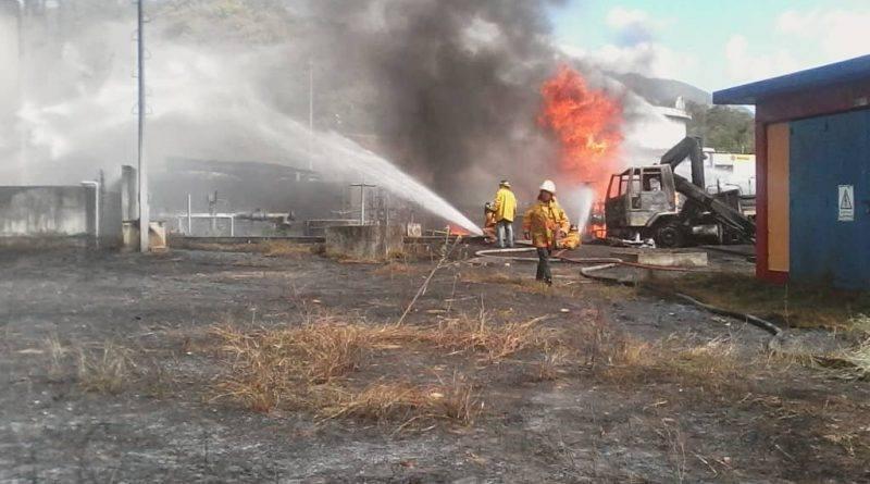 Incendio en la planta de llenado de Pdvsa Guatire dejó un fallecido y siete heridos