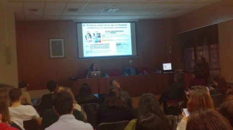 Observatorio de la ULA expuso en Universidad de Salamanca situación de derechos humanos en Venezuela