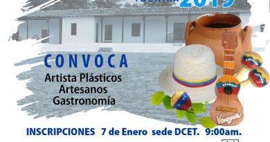 Abiertas inscripciones para participar en la Expocultural 2019
