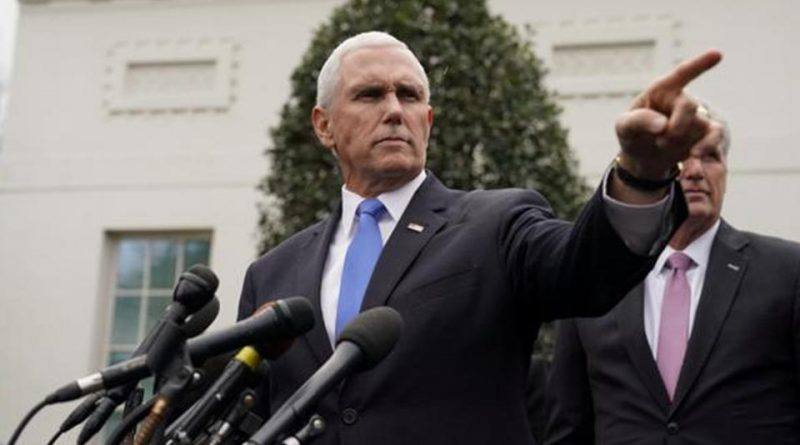 "Mike Pence anima a Juan Guaidó a ""tender puentes"" con sectores opositores"
