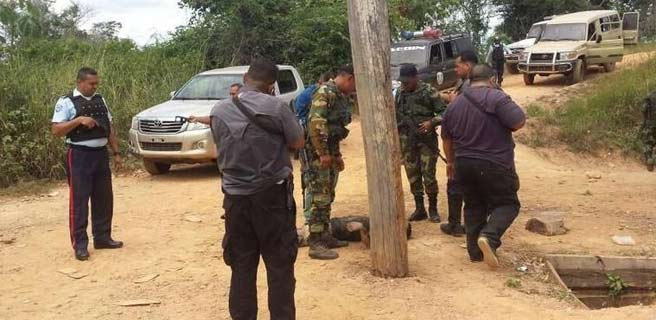 Aún sin identificar los muertos en enfrentamiento con el Ejército en mina Yin Yang de El Callao