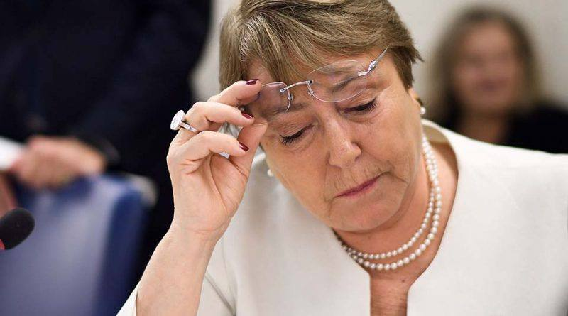 Internacionalistas prevén que gobierno de Maduro declare persona non grata a Bachelet