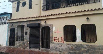 Casas marcadas y amenazas del ELN llegan a dirigentes opositores en el Táchira