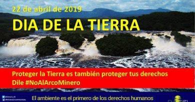 Día de la Tierra 2019 o mejor dicho SOS a la tierra venezolana . Por Alejandro Álvarez Iragorry